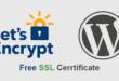 WordPress İçin Ücretsiz SSL Nasıl Alınır?